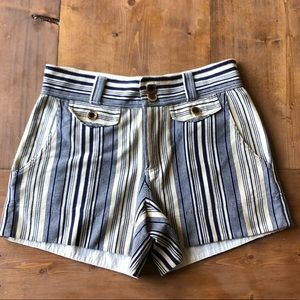 Marc by Marc Jacobs navy ivory stripe short XS New